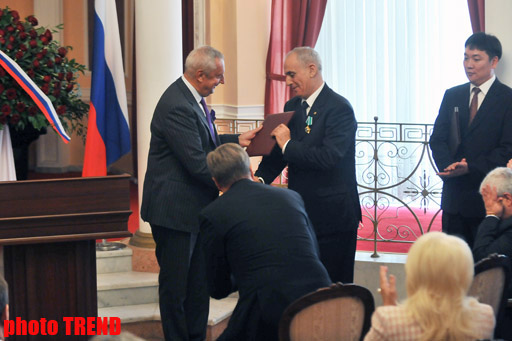 Azerbaijani news agency director awarded Russian order (UPDATE) (PHOTO) - Gallery Image