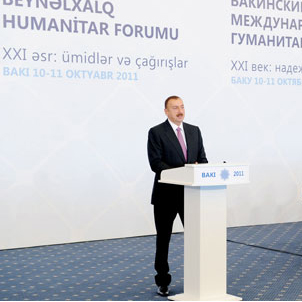 President Ilham Aliyev: Azerbaijan is country, where culture and civilization merged (PHOTO)