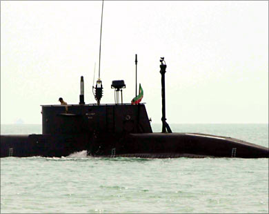 Iran to equip submarines, naval surface vessels with missile systems