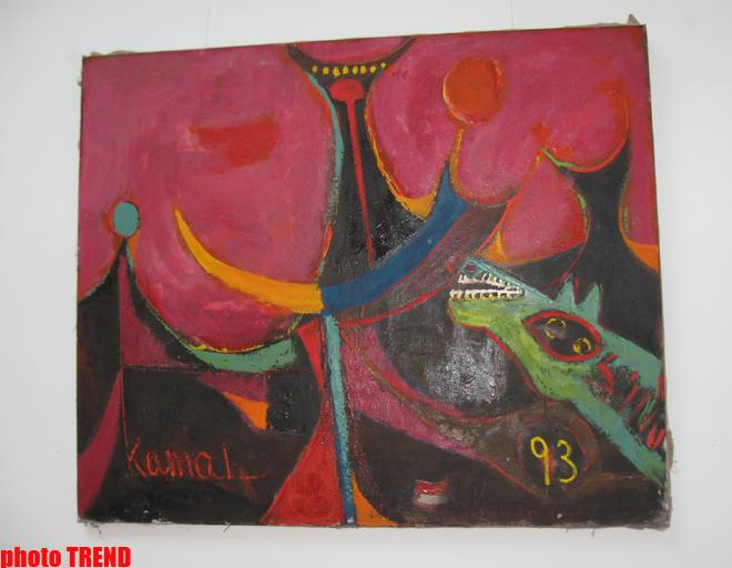 Любовь к искусству необходимо прививать с детства – Рафиг Гусейнов (фотосессия) - Gallery Image