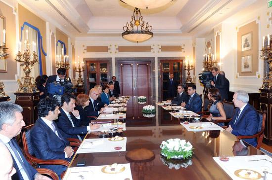 Azerbaijan's First Lady meets Italy-Azerbaijan inter-parliamentary friendship group members (PHOTO) - Gallery Image