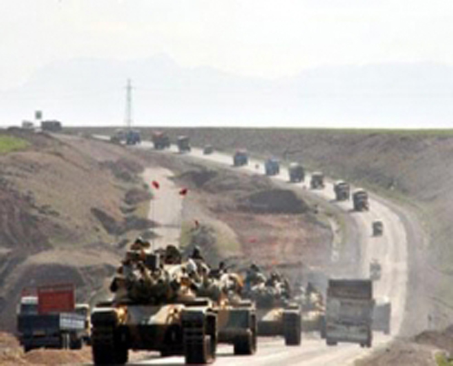 "Turkey's operation in Syria and ""Islamic anti-terrorism coalition"""