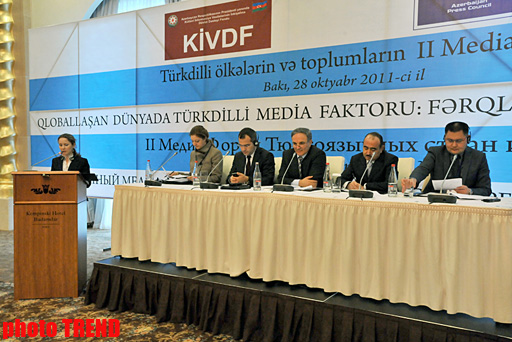 Turkic countries to establish media coordination center (PHOTO) - Gallery Image