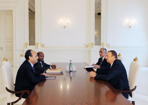 Azerbaijani President, WB Regional Director for S.Caucasus discuss cooperation