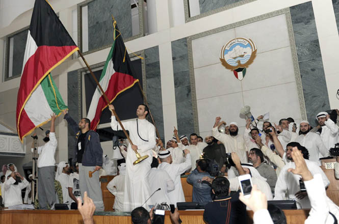 Security clampdown in Kuwait as opposition calls poll boycott