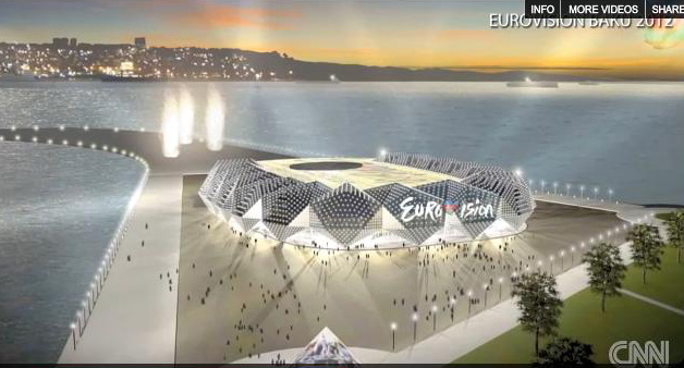"Sketch of building to be possible venue for ""Eurovision 2012"" Song Contest made public (PHOTO, VIDEO) - Gallery Image"