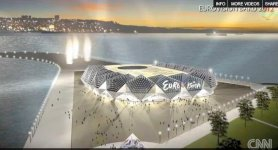 "Sketch of building to be possible venue for ""Eurovision 2012"" Song Contest made public (PHOTO, VIDEO) - Gallery Thumbnail"