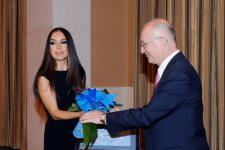 Vice-president of Heydar Aliyev Foundation awarded special certificate of UN (PHOTO) - Gallery Thumbnail