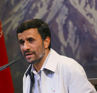 Ahmadinejad rivals lead in polls, president's sister out