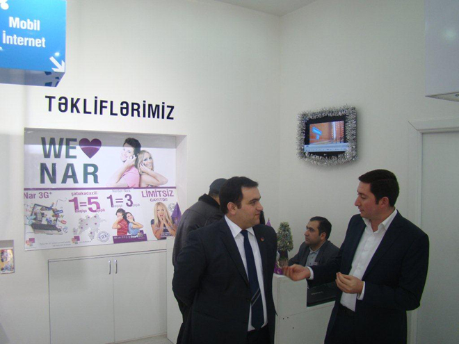 Nar Mobile presents 'Nar Dunyası' sales and service centers for Mingecevir residents (PHOTO) - Gallery Image