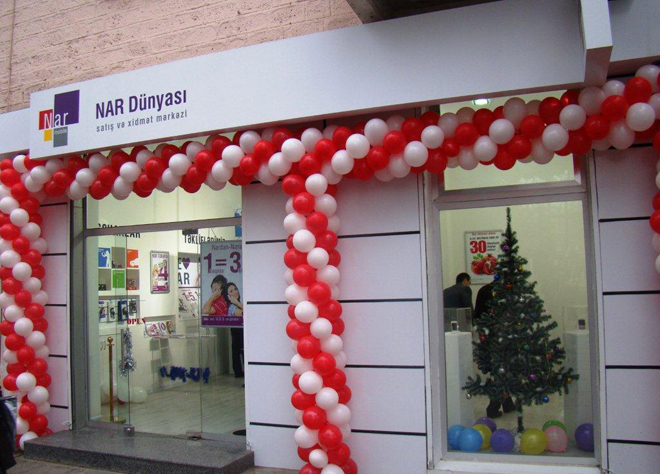 Nar Mobile presents 'Nar Dunyası' sales and service centers for Mingecevir residents (PHOTO)