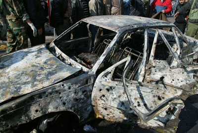 Car bomb kills two Afghan civilians