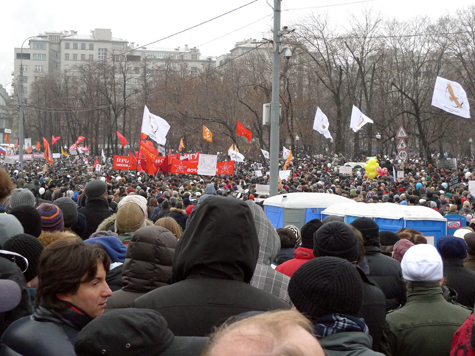 250 protesters, including opposition leaders detained in Moscow