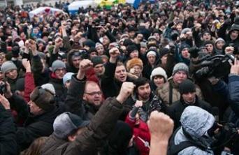 Moskvada aksiya iştirakçılarının sayı 18 minə çatıb
