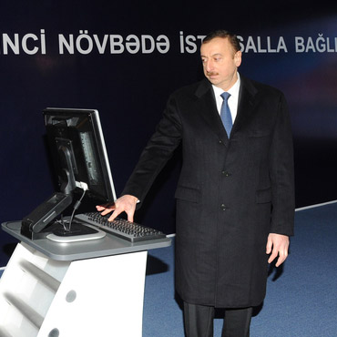"Ilham Aliyev inaugurates plant of modern construction materials ""AAC"" in Garadag district (PHOTO)"