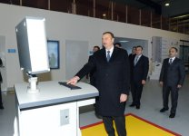 "Ilham Aliyev inaugurates plant of modern construction materials ""AAC"" in Garadag district (PHOTO) - Gallery Thumbnail"
