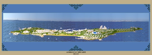 Tourist town to appear on Boyuk Zira island of Baku archipelago (photo) - Gallery Image