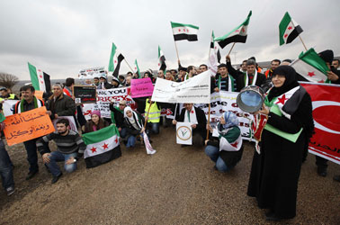 Freedom Convoy on hunger strike after Syria refuses entry