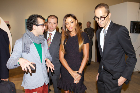 """""""Fly to Baku: Contemporary Art from Azerbaijan"""" exhibition opens in London (PHOTO) - Gallery Image"""