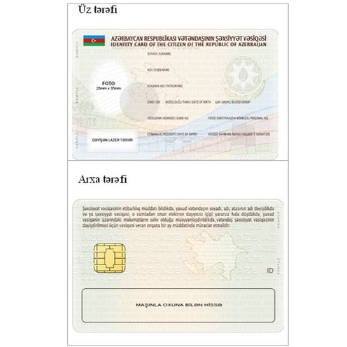 Addresses to be coded in identification cards in Azerbaijan
