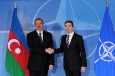 Azerbaijani President meets NATO Secretary General in Brussels (PHOTO) - Gallery Thumbnail