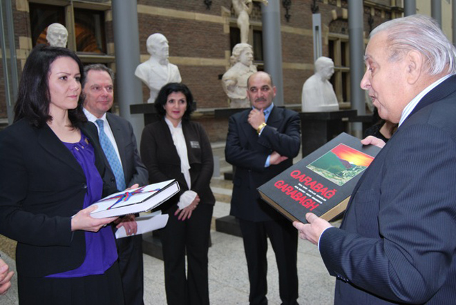 Million signatures of Netherlands' citizens sent to county's parliament on recognition of Khojaly Genocide (PHOTO) - Gallery Image