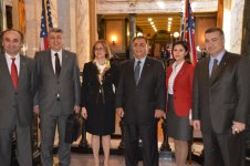 Azerbaijani-Turkish delegation visit Senate and House of Representatives of State of Mississippi (PHOTO) - Gallery Thumbnail