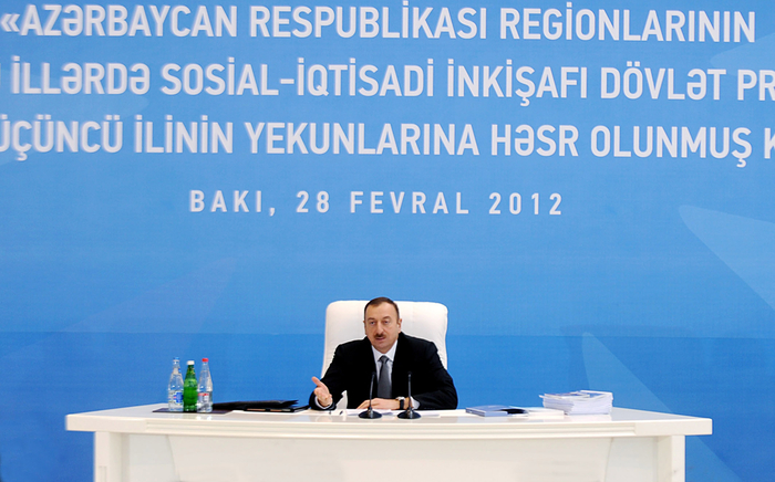 President: Azerbaijan to continue making efforts for comprehensive development (PHOTO) - Gallery Image