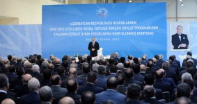 President: Azerbaijan to continue making efforts for comprehensive development (PHOTO) - Gallery Thumbnail