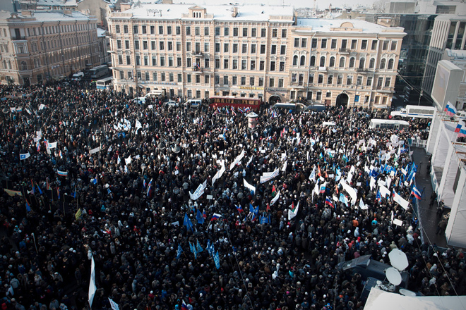 Opposition Rallies in Moscow As Putin Proposes Dialogue