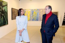 Azerbaijan's First Lady and French minister of culture visit Museum of Modern Art in Baku (PHOTO) - Gallery Thumbnail