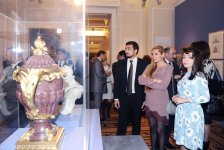 Azerbaijani first lady, French Minister of Culture and Communication attend Pearls of France exhibition in Baku (PHOTO) - Gallery Thumbnail