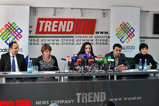 Azerbaijan launches campaign to support Baku's candidacy to host Olympic Games-2020 (PHOTO)