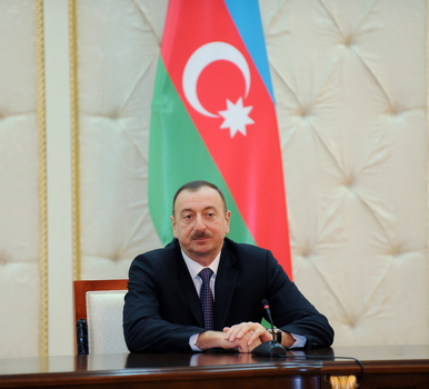 President Ilham Aliyev : Azerbaijan and Kyrgyzstan have an active cooperation on regional and bilateral issues (PHOTO)