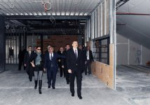 Azerbaijani President and his spouse inspect construction progress at National Flag Square and Sports and Concert Complex (PHOTO) - Gallery Thumbnail