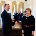 Azerbaijani President awarded with the CIS Inter-parliamentary Assembly`s Friendship order (PHOTO) - Gallery Thumbnail