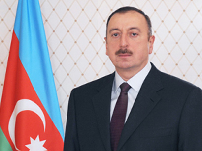 Azerbaijani President Ilham Aliyev named Man of 2013 by National Hero Chingiz Mustafayev Foundation and ANS Group of Companies