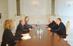 Azerbaijani President receives Director-General of UN Food and Agriculture Organization - Gallery Thumbnail