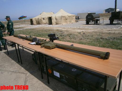 Прошел смотр новой военной техники Госпогранслужбы Азербайджана (ФОТО) - Gallery Image