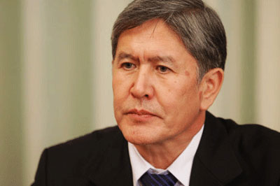 President: Kyrgyzstan supports peaceful resolution of Syrian conflict