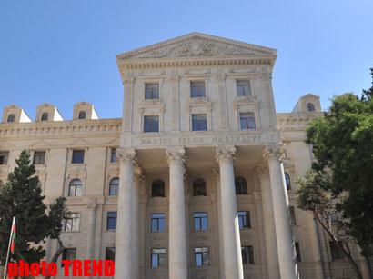 Azərbaycan Türkmənistana qəti etirazını bildirib