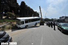 Road Police releases official information with regard to accident in Baku (version 3) (PHOTOS) - Gallery Thumbnail