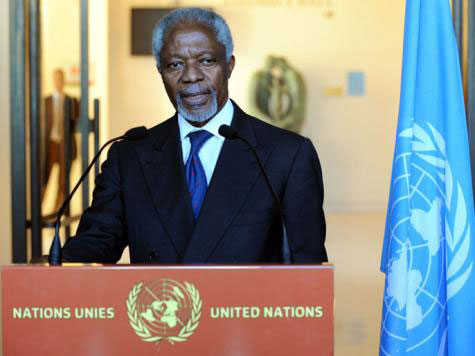 Annan: Syria can still be saved from worst calamity