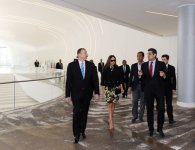 President Ilham Aliyev and his spouse inspects construction work at several places in Baku (PHOTO) - Gallery Thumbnail