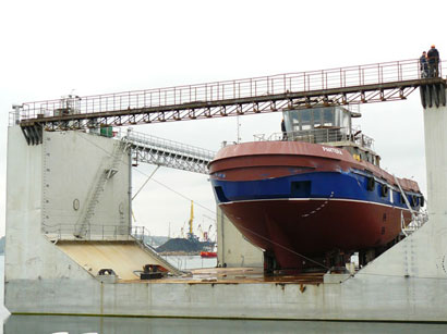 Iran plans to use domestic ship building capacities
