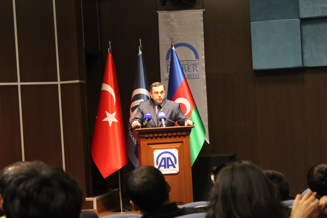 "Ankara hosts presentation of ""Destroyed cradle of culture – Shusha"" movie (PHOTO)"