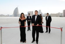 Azerbaijani President and his spouse opens Heydar Aliyev Center (PHOTO) - Gallery Thumbnail