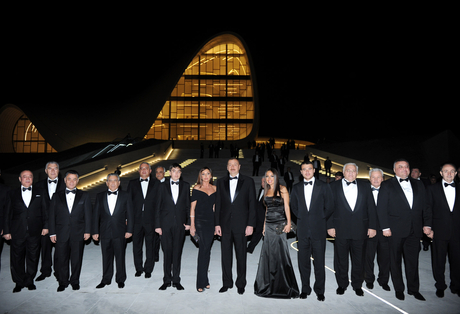 Azerbaijani President and his spouse opens Heydar Aliyev Center (PHOTO) - Gallery Image