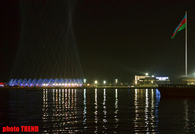 New photos of Baku Crystal Hall, where Eurovision-2012 to be held - Gallery Image