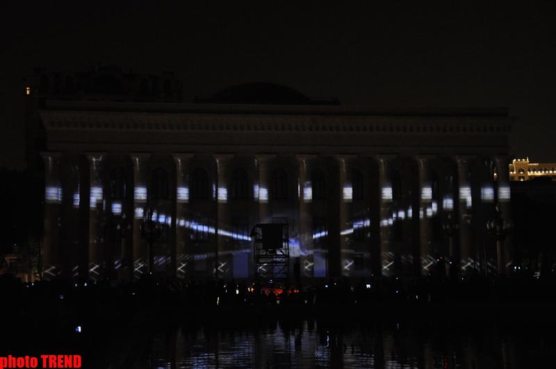 "Организация YARAT! представила проект-3D-mapping Мехти Мамедова ""Нефть"" (ФОТО) - Gallery Image"